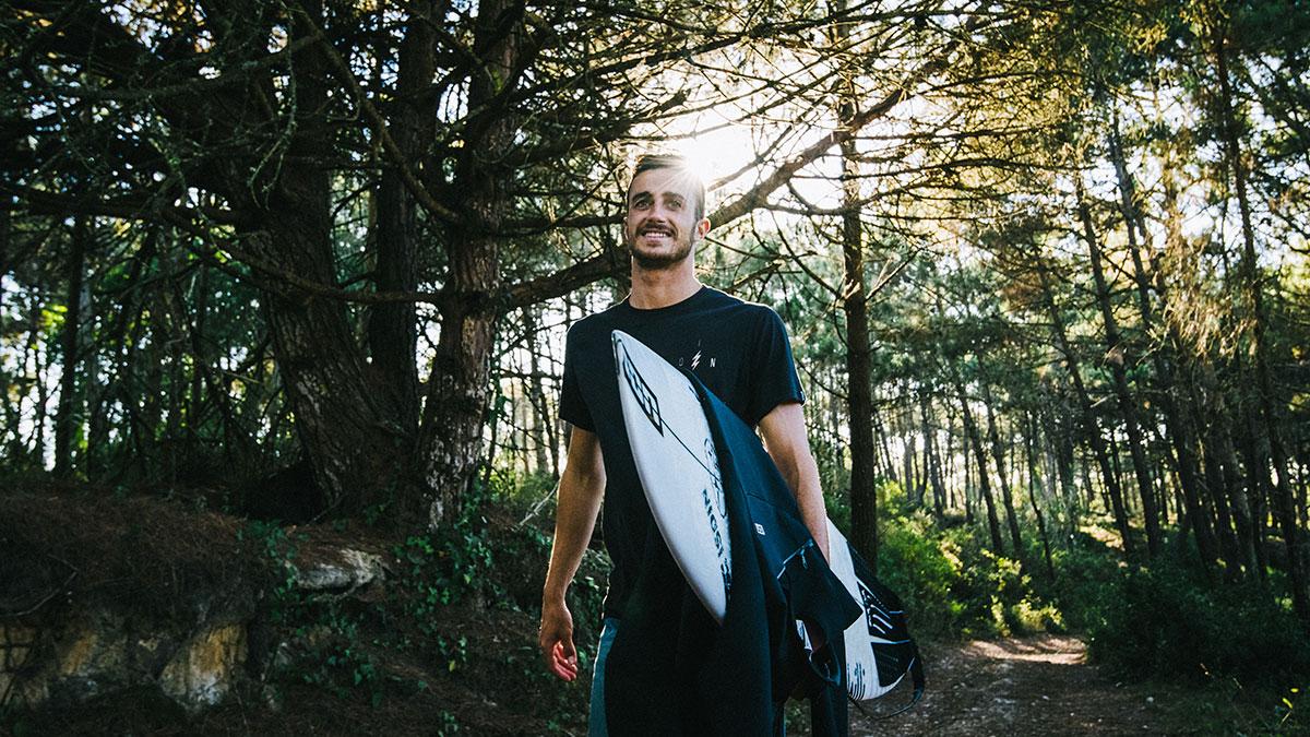surfear con andy criere